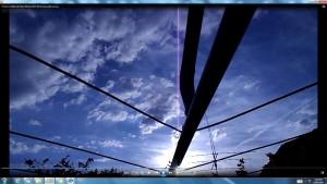 Antennae&CamerasinGiganticCableofTheGigantic.TheSun.(C)NjRout6.58pm30thDec2015 009 Antennae&Cameras.