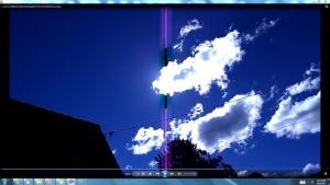 Antenne&CamerasinaGiganticCableofTheGiganticSun.sunmorn(C)NjRout1.45pm17thAug2013 033 GiantWhiteLineCables.