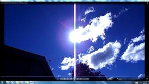 Sun.PinkFan.TheGiantWhiteLine.sunmorn(C)NjRout1.45pm17thAug2013 033 GiantWhiteLineCables.