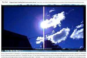 Sun.PinkFan.TheGiantWhiteLine.sunmorn(C)NjRout1.45pm17thAug2013 033 GiantWhiteLineCables. Graph.Large.