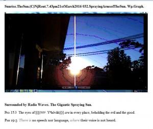 Sunrise.TheSun.(C)NjRout.7.43pm21stMarch2016 032.SprayingArmsofTheSun. Wp.Graph.
