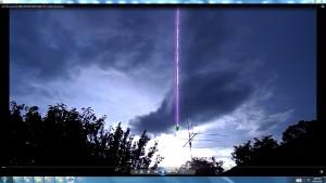 Antennae&CamerasinGiganticCableofTheGiganticSun.2.SunFebruaryEve(C)NjRout9.39pm26thFeb2014-031-AntennaeCameras
