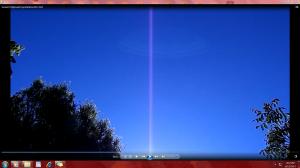 BluelinesinMyYard.Sunset(C)NjRout6.51pm6thDec2013 024
