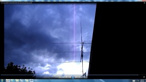 CableofTheSun.Suncloudy(C)NjRout7.13pm15thDec2013-005-AntennaeOperatinginSunsCable