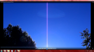 PinklineinMyYard.Sunset(C)NjRout6.51pm6thDec2013 024