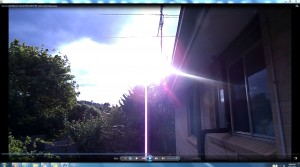 SunSpraying.PinkFan.WhiteLine.5.Suncloudy(C)NjRout7.13pm15thDec2013-001-AntennaeSunSpraying