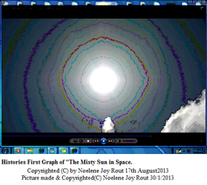 Sun. MistySuninSpace.HistoriesFirstGraph.(C)NjRout30thJanuary2013