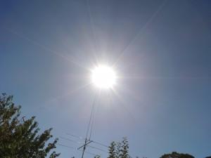 SunnuS(C)NjRout5.07pm26thJan2014 018 CompareRaysizetosizeofSun.