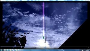 Antennae&CamerasaboveMyAerial.6.SunFeb3rd(C)NjRout6.41pm3rdFeb2014-027-CamerasinCable.MotorRunning