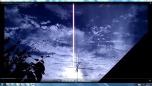 TheGiantWhiteLineaboveMyAerial.SunFeb3rd(C)NjRout6.41pm3rdFeb2014-027-CamerasinCable.MotorRunning