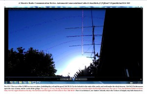 A Massive Radio Communication Device. Antennae&CamerasinSunsCable.E.Sun.Birds.(C)NjRout7.51pm6thJan2014 003.Graph.