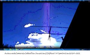 Antennae&CamerainCableofSon.SunsetJan(C)NjRout7.47pm3rdJan2014-002.P.B.