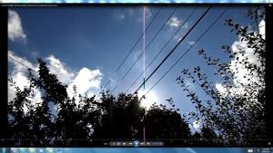 Antennae&CamerasinCableaboveTheSun.1.SunMarch(C)NjRout10.26am3rdMarch2014-002-SunCableAnt&Cams.