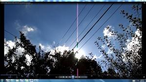 Antennae&CamerasinCableaboveTheSun.10.SunMarch(C)NjRout10.26am3rdMarch2014-002-SunCableAnt&Cams.