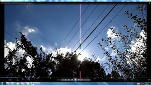 Antennae&CamerasinCableaboveTheSun.11.SunMarch(C)NjRout10.26am3rdMarch2014-002-SunCableAnt&Cams.