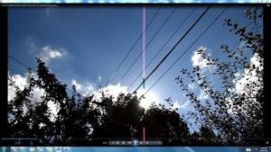 Antennae&CamerasinCableaboveTheSun.13.SunMarch(C)NjRout10.26am3rdMarch2014-002-SunCableAnt&Cams.