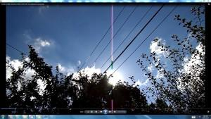 Antennae&CamerasinCableaboveTheSun.4.SunMarch(C)NjRout10.26am3rdMarch2014-002-SunCableAnt&Cams.