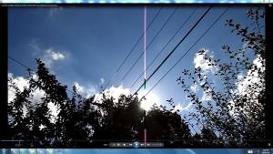 Antennae&CamerasinCableaboveTheSun.6.SunMarch(C)NjRout10.26am3rdMarch2014-002-SunCableAnt&Cams.