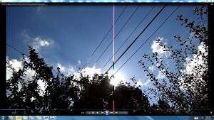 Antennae&CamerasinCableaboveTheSun.9.SunMarch(C)NjRout10.26am3rdMarch2014-002-SunCableAnt&Cams.