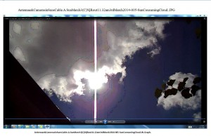 Antennae&CamerasinSunsCable.A.SunMarch3(C)NjRout11.32am3rdMarch2014-005-SunConsumingCloud.W.Graph.Snipped.