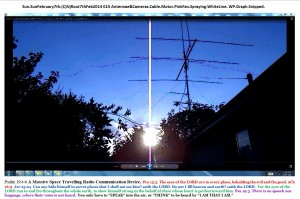 Sun.SunFebruary7th.(C)NjRout7thFeb2014 015 Antennae&Cameras.Cable.Motor.PinkFan.Spraying.WhiteLine. WP.Graph.Snipped.