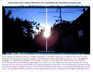 SunFebruary7th.(C)NjRout7thFeb2014 016 GiantWhiteLine.Sun.PinkFan.SunSpraying.Graph.Snipped.