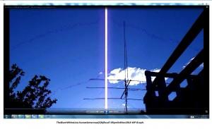 TheGiantWhiteLine.SunsetAntennae(C)NjRout7.05pm3rdNov2013 WP.Graph.