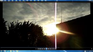 SunSpraying.1.SunsetoverKambahoftheACTNjRout7.47pm1stDecember2013 096.Pic.