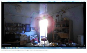 Sun in my Dining Room.SunMonday.(C)NjRout1.23pm25thAug2014 013.Sun.Cable.Antennae&Cameras.Graph.Snip.