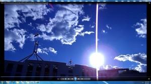SunPinkFan.ParliamentHouseCanberra&SunPinkFanThis.(C)NjRout9.18pm12thNovember2103 202