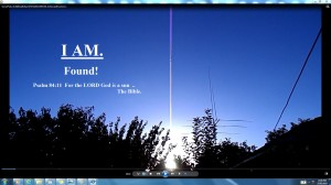 I.AM.Found!TheBible.Antennae&CamerasinSunsCable.SunsetFeb.2.(C)NjRout8.01pm5thFeb2014 005 034 Antennae&Cameras.