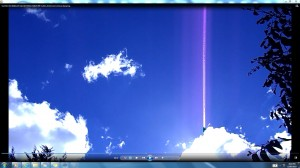 Antennae&CamerasinSunsCables.SunMarch(C)NjRout5.52pm17thMarch2014 009 Cables.Antennae.Cameras.Spraying.