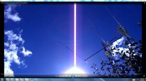 Sun.WhiteLine.Cables.SunMarch(C)NjRout5.52pm17thMarch2014 005 TheGiantWhiteLine.