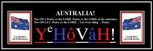 AUSTRALIA! Praise God! (C)NjRout9.10pm2ndJune2015