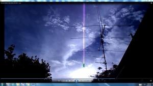 Antennae&CamerasinCableofTheSun.Suneve(C)NjRout7.28pm8thDec2013 004