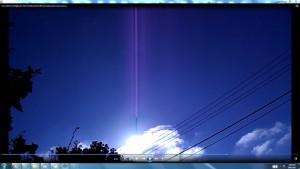 Antennae&CamerasinMassiveCableofTheGiganticSun.4.SunriseMarch(C)NjRout1.27pm7thMarch2014 006.CableMassive.