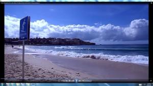 Bondi Beach.HarbourBridgeOperaHouseBondi Beach(C)NjRout3.46pm24thNov2013 162