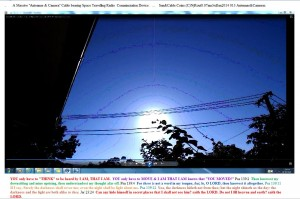 MassiveAntennae&CameraCablebearingSpaceTravellingRadioComminciationDevice.Coins.(C)NjRout8.07am3rdJan2014 013
