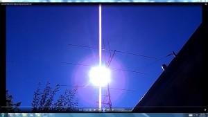 Sun.PinkFan..EarthatPERIHELION.2.(C)NjRout5.38pm14thJan2015