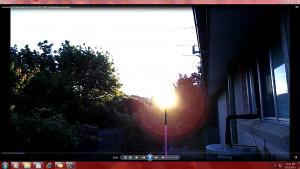 Sun&itsFan.Sunsetting(C)NjRout8.33pm7thDec2013 049