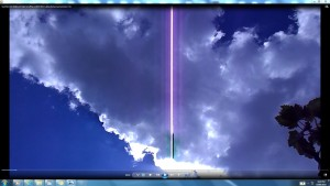 TheGiantWhiteLine.SunMarch(C)NjRout3.04pm2ndMarch2014 011 CablesAntennaeCameras.T.O.
