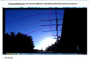 TheGiantWhiteLine.Sun.Birds.(C)NjRout7.51pm6thJan2014-003.AntennaeCameras.Graph.Small.