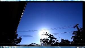 TheGreaterChandelier.Sun.WhiteLine.Cable.Coins.(C)NjRout8.07am3rdJan2014 013 Antennae&Cameras.