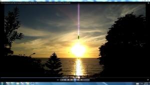Antennae&CamerasinAGiganticCableofTheSun.HarbourBridgeOperaHouseBondiBeachCopyright(C)Bracketed NjRout3.46pm24thNov2013 073
