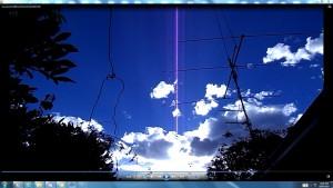 Antennae&CamerasinOneofSunsCables.2.SunsetJan(C)NjRout7.47pm3rdJan2014 050