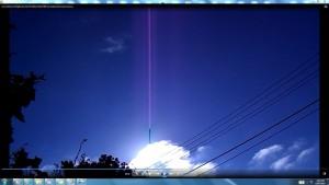 CableGigantic.2.SunriseMarch(C)NjRout1.27pm7thMarch2014 006 SunCablesAntennaeCameras.