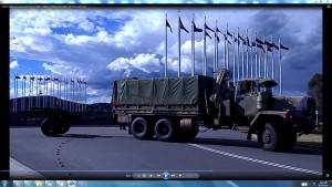 MilitaryCannonLeavingParliamentHouseCanberra.12thNovember2013.A.ParliamentHouseCanberra&TheSun(C)NjRout918pm12thNovember2013 126