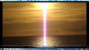 MotorsinSun.FishJumping.HarbourBridgeOperaHouseBondiBeach(C)NjRout3.46pm24thNov2013 090 SunsCableoverBondisea.CloseUp.Scientific.