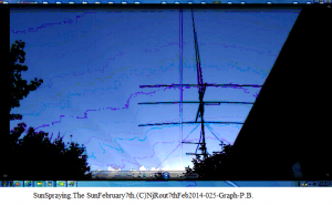 SunSpraying.The SunFebruary7th.(C)NjRout7thFeb2014-025-Graph-P.B.