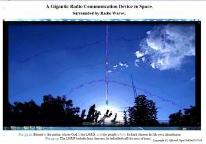 AGiganticRadioCommunicationDeviceinSpace.Sunfrideve(C)NjRout8.36pm23rdJan2015 016 Antennae&Cameras.